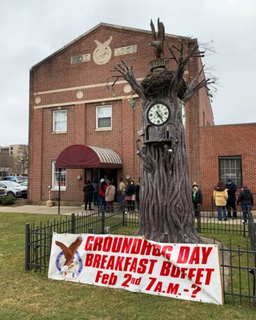 Groundhog Day Breakfast in Punxsutawney