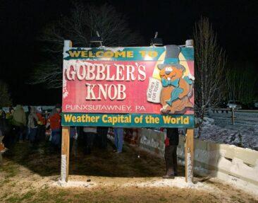 Gobbler's Knob in Punxsutawney