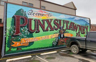 Punxsutawney Mural
