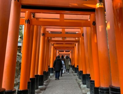 Fushimi Inari-Taisha in Kyoto, Japan