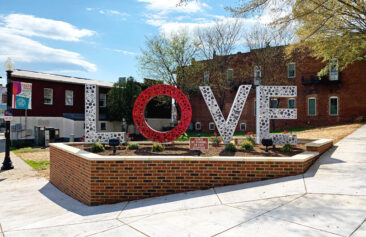 Loveworks in Culpeper, Virginia