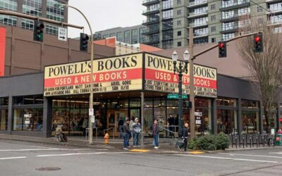 Powells Books in Portland