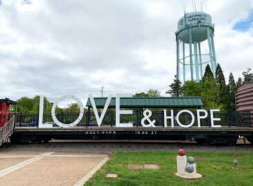 The Manassas Love Sign