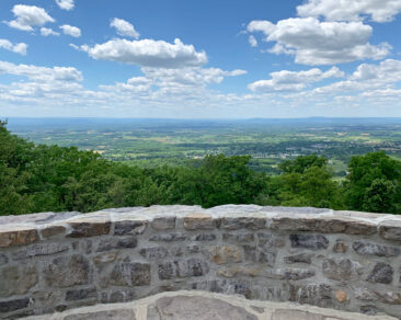 The view from Washington Monument State Park