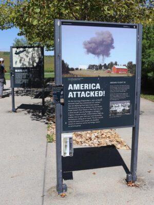 The Flight 93 Memorial in Shanksville, Pennsylvania