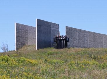 Observation deck at the Flight 93 Memorial Visitors Center in Shanksville, Pennsylvania
