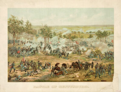 Battle of Gettysburg. Source: Wikipedia