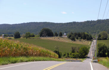 Burkittsville, Maryland- featured in the Blair Witch Project