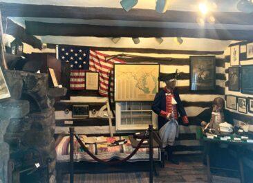 George Washington's Headquarters in Cumberland, Maryland