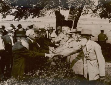 Gettysburg Battlefield 1913 Reunion. Source: Wikipedia