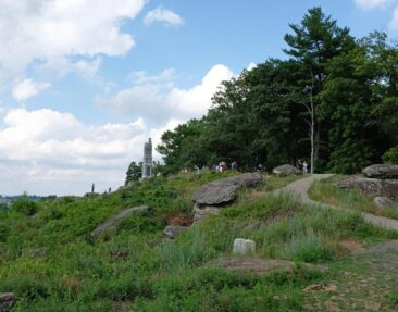 Little Round Top in Gettysburg