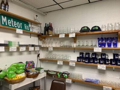 UFO store gift shop near the Kecksburg VFD