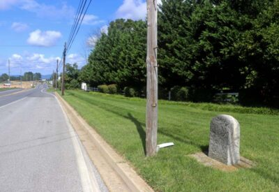 National Road Mile Markers in Maryland