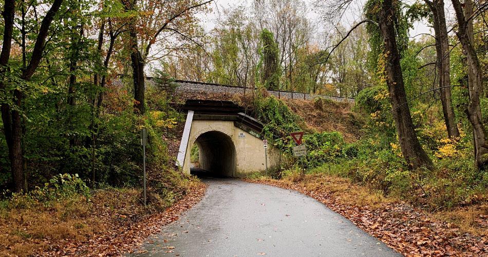 Bunny Man Bridge in Clifton, Virginia