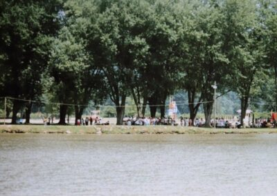 Lake Shawnee in the 1980s