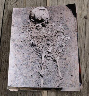 Native American burial ground found during the Lake Shawnee excavation. Photo courtesy of WVlakeshawnee.com