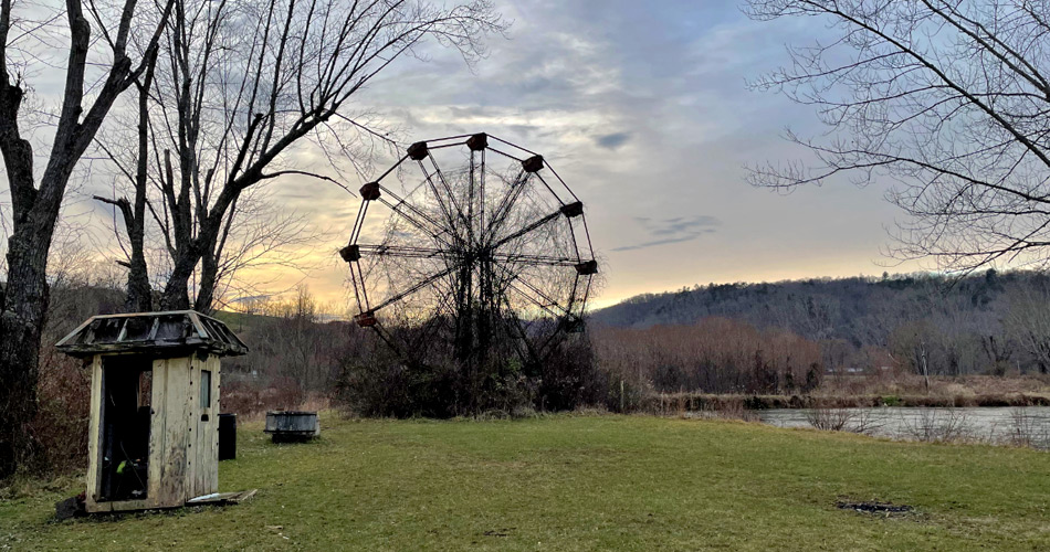 Lake Shawnee haunted and abandoned amusement park in West Virginia