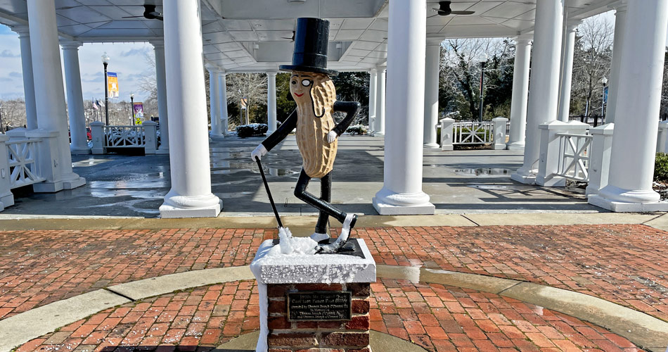 Mr. Peanut and the Salty Southern Route: Discovering the Virginia Peanut Trail