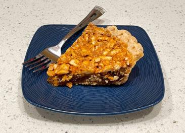 Peanut Pie from Virginia Diner
