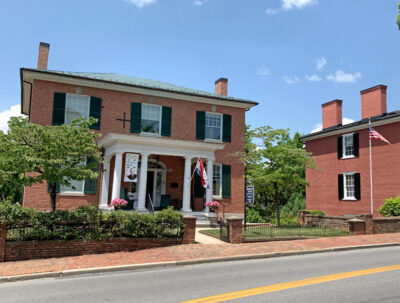 Woodrow Wilson childhood home and museum in Staunton, Virginia
