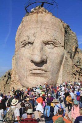 Crazy Horse Volksmarch Hike (Source: crazyhorsememorial.org)