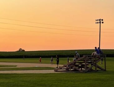 Field of Dreams Movie Site at Sunset