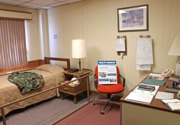 Living Quarters of the Ronald Reagan Minuteman Missile Site
