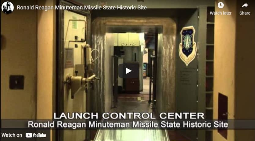 Video tour of the Ronald Reagan Minuteman Missile Site