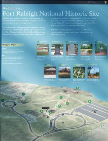 Fort Raleigh Roanoke Colony