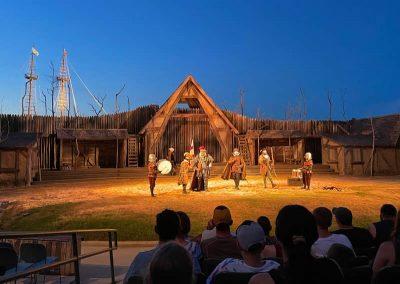 The Waterside Theater near the Lost Colony of Roanoke