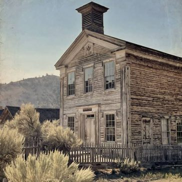 Bannack Ghost Town in Montana
