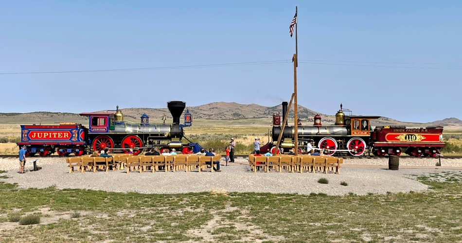 Golden Spike National Historical Park: East Meets West at the Site of the Transcontinental Railroad Completion